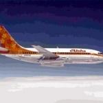 アロハ航空が創立60周年記念特別塗装機を運航