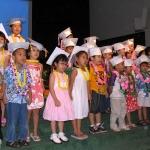 ハワイのプリスクール(幼稚園)で卒園式