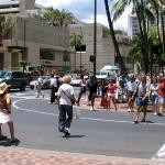 ハワイは歩行者にとって危険がいっぱい!?